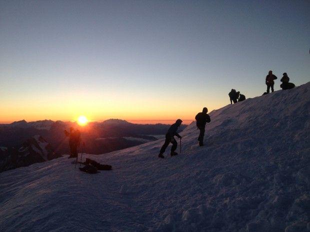 Ascension du Mont Blanc -5